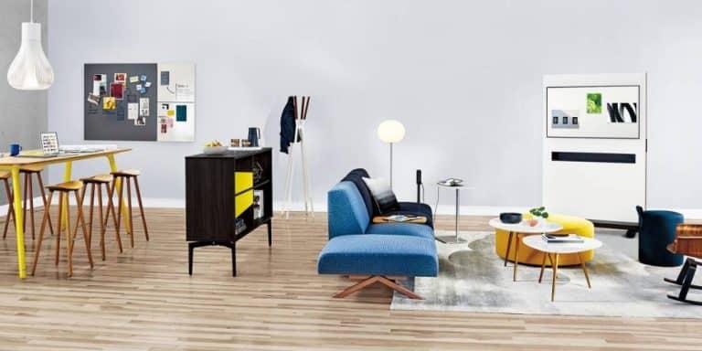 ۵ روش برای پیوند بهتر اتاق ها با رنگ