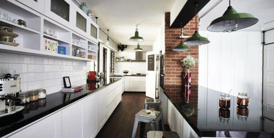 طراحی آشپزخانه راهرویی