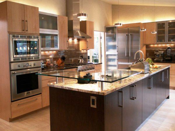 طراحی آشپزخانه جزیرهای