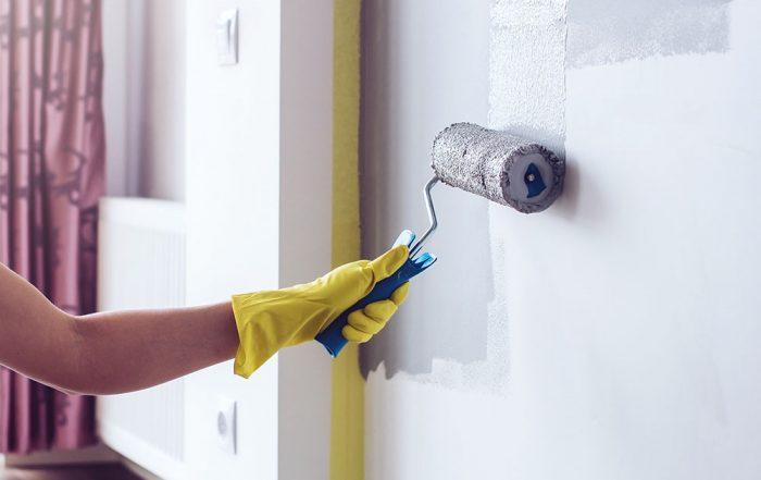 رنگ آمیزی در بازسازی داخلی آپارتمان