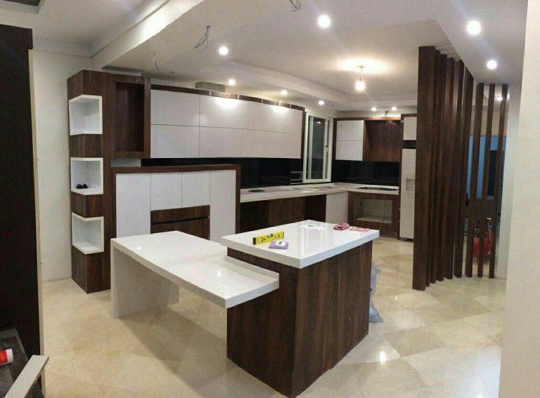 کابینت هایگلاس آشپزخانه