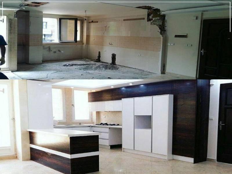 باسازی آپارتمان درتهران