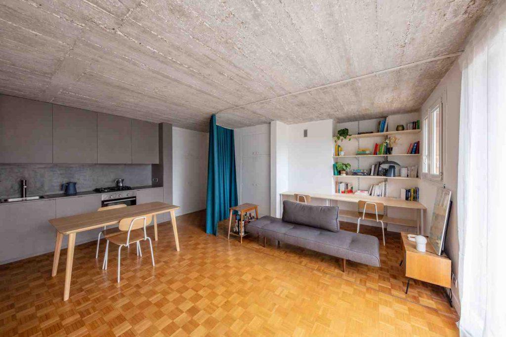 استفاده بهینه از فضای خانه های کوچک
