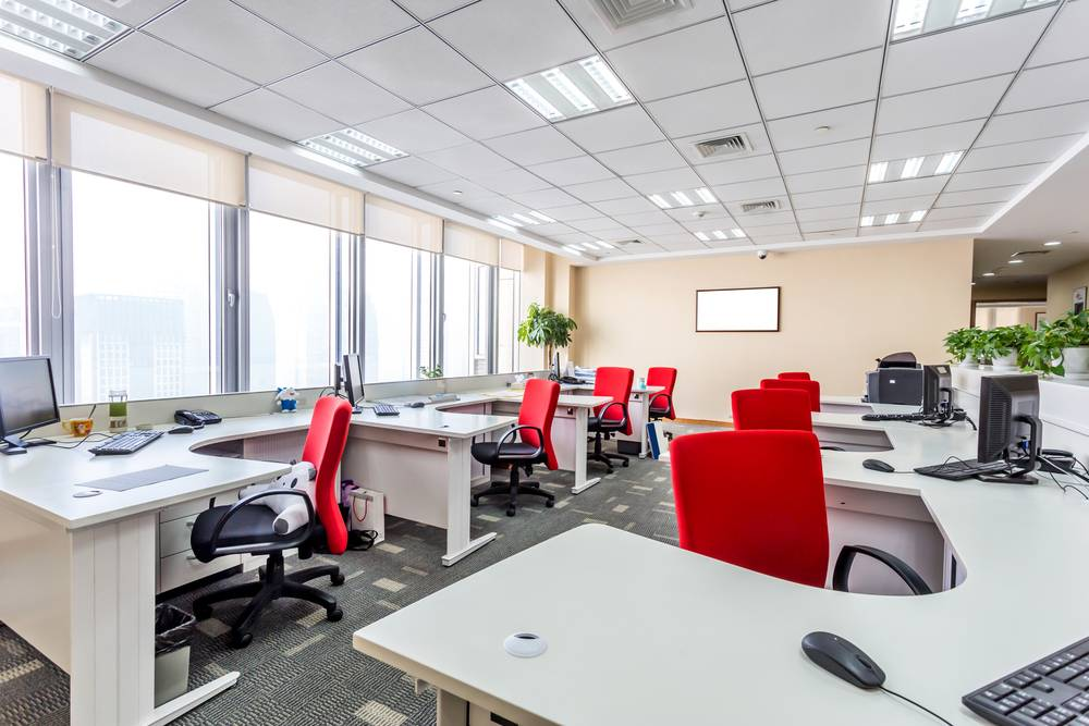 نورپردازی ساختمان های اداری