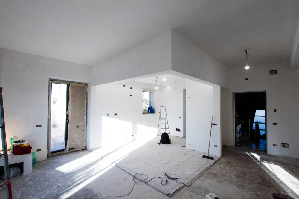 مراحل بازسازی ساختمان اداری